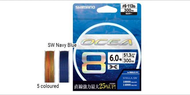 Здраво влакно от Shimano за здрав морски риболов